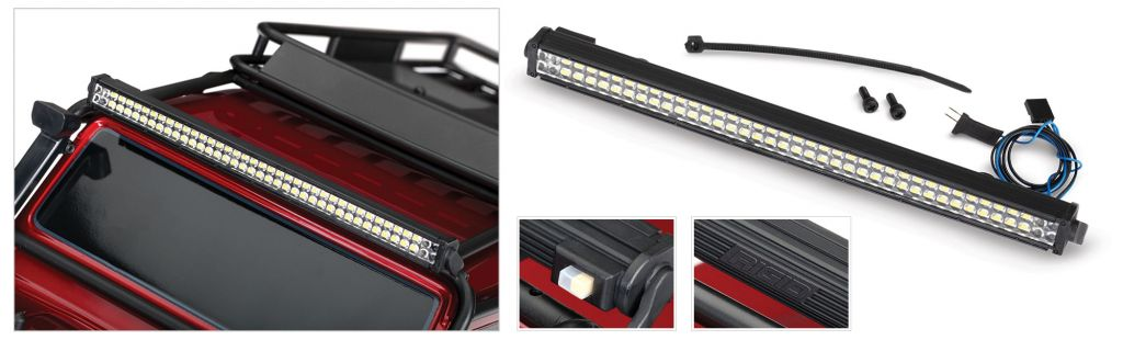 8030 LED light set, complete (contains rock light kit, LED lightbar ...