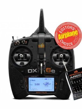 spektrum SPMR6650 DX6e 6CH Transmitter Only
