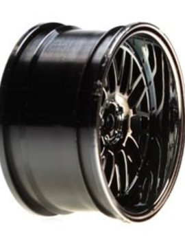 Vattera VTR43008 Wheel RR 54 x 30mm Deep Mesh, Blk Chrome (2): V100