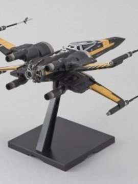 Bandai BAN219752  1/72 Scale Poe's Boosted X-Wing Fighter