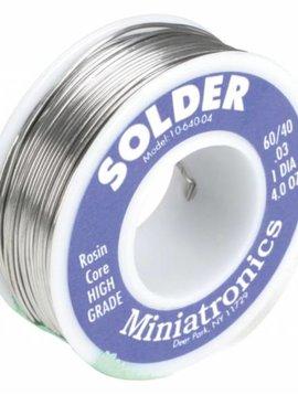 MNT Rosin Core Solder 60/40, 4oz