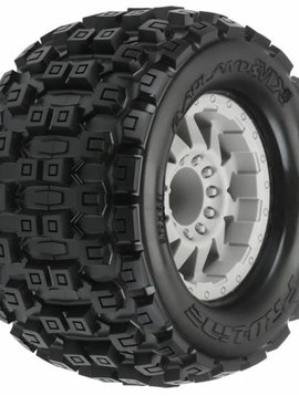 "Proline PRO10127-25 Badlands MX38 3.8"" (Traxxas Style Bead) All Terrain Tires Mounted"