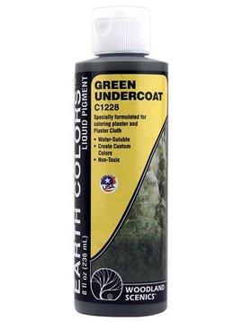 Woodland Scenics WOOC1228 Earth Color Undercoat, Green/8oz