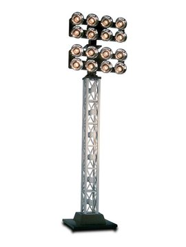 Lionel LNL682013 O Double Floodlight Tower/Plug-Expand-Play