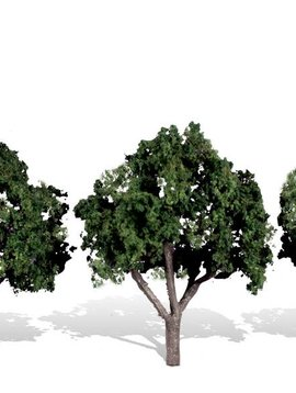 "Woodland Scenics WOOTR3508 Classics Tree, Cool Shade 3-4"" (3)"