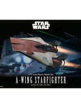 Bandai BAN206320 1/72 A-Wing Starfighter Star Wars