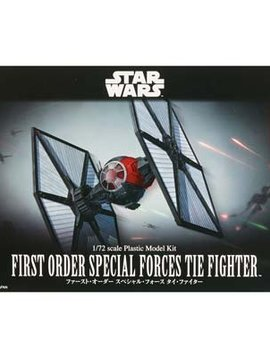 BAN 203219 1/72 First Order Special Forces Tie Fighter SW