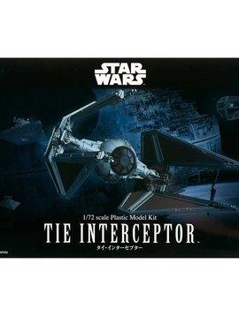 Bandai BAN208099 1/72 Tie Interceptor Star Wars