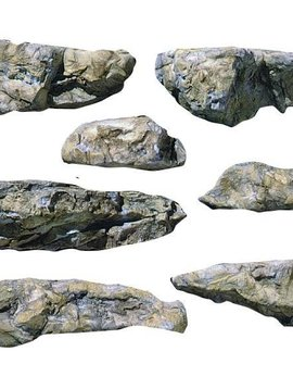 Woodland Scenics WOOC1233 Rock Mold, Embankments