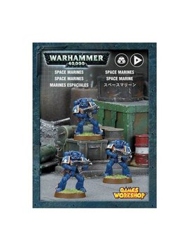 Citadel Space Marines Mini Kit (3 Minis)