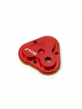 STRC STRT8291R Aluminum Center Gearbox Housing Cover, Red: TRX-4