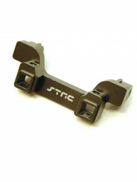 STRC ST8237RGM CNC Machined Alum. Heavy Duty Rear Bumper Mount, TRX-4 (GunMetal)