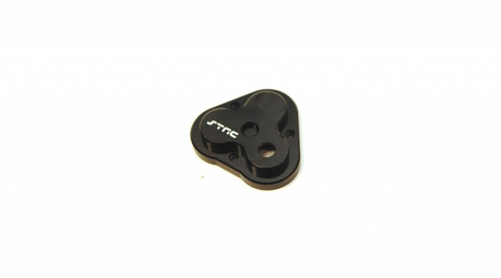 STRC ST8291BK CNCAluminum Center Gearbox Housing Cover, Black: TRX-4