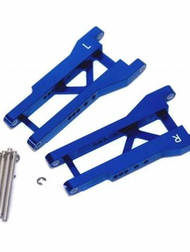STRC ST2555B Mach Alum Rear A-Arms Blue Slash/Nitro Slash