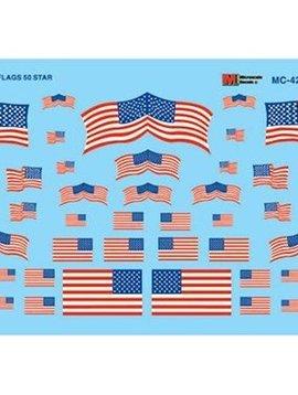 MSI MC4202 HO US Flags, 50-Star 1960+