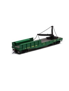 Atherns ATH28029 HO RTR 40' Derrick Flat, C&O #X2002