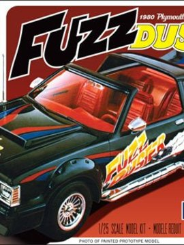 MPC 1/25 1980 Plymouth Volare Roadrunner, Fuzz Duster
