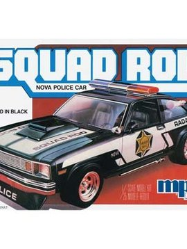 MPC MPC851/12 1/25 1979 Chevy Nova Squad Rod Police Car