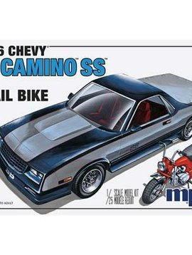 MPC MPC888/12 1/25 1986 Chevy El Camino SS w/Dirt Bike