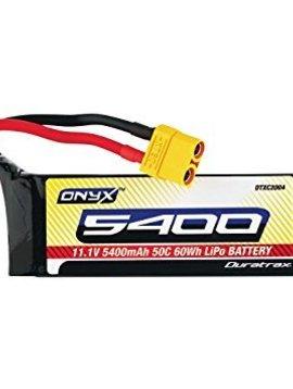 Duratrax DTXC2005 Lipo Onyx 3S 11.1V 5400mAh 50C Soft Battery