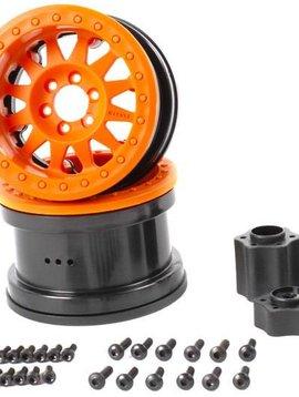 AXI AX31364 2.2 Method Beadlock Wheel IFD Orange (2)