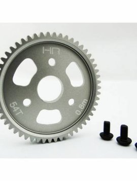 Hot Racing 54T Aluminum Spur Gear, 32P (0.8Mod)