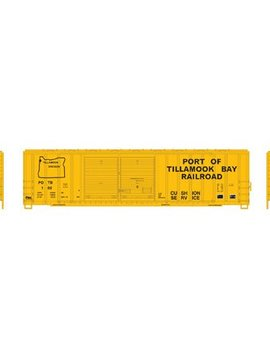 Atherns ATH6667 N 50' FMC Offset Double Door Box, POTB #102