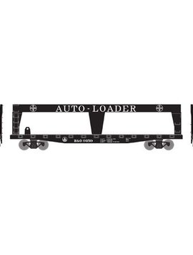 RND HO 50' Double-Deck Auto Loader, B&O 9159