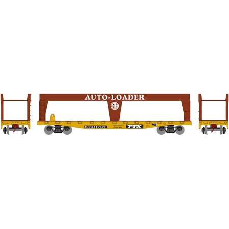 RND HO 50' Double-Deck Auto Loader, BNSF 140427