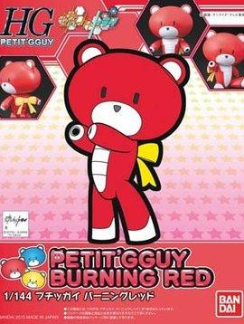 Bandai BAN200582 Burning Red Petit-Beargguy Gundam Bld Fghtr HG
