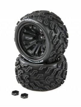 Dynamite DYNW0021 SPEEDTREADS Vulture 1/10 ST/MT Tires MNTD (2)