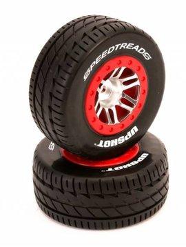 Dynamite DYN5133 MTD SpeedTreads Upshot SC Tire SLHR,4X4F/R,ECX(2)
