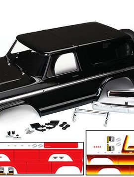 TRA8010X - Body, Ford Bronco, complete (black)