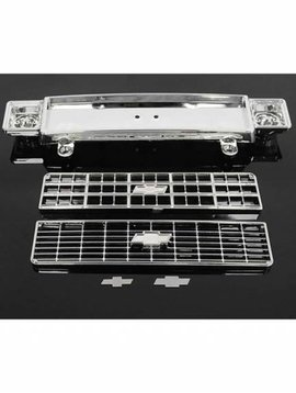 RC4 Chevy Blazer Chrome Front Grill w/Optional Inserts