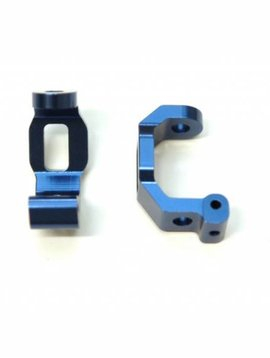 ST Racing Concepts Alum Front C-Hub 1 pair for Traxxas 4Tec 2.0 Blue