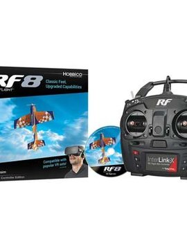 Hobbico RF8 RC Flight Sim Interlink -X Controller Edition