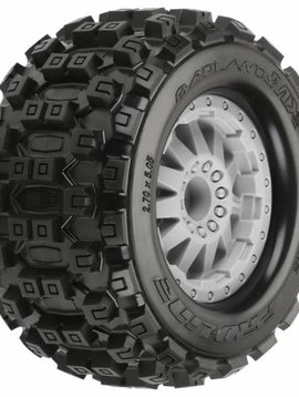 Pro LIne PRO1012526 Badlands MX28 2.8 Mnt F-11 Gray Whls