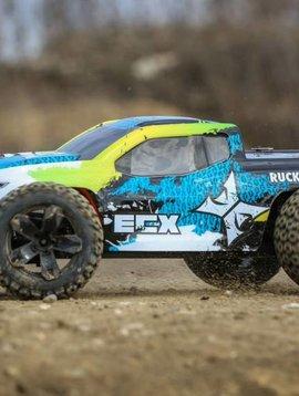 ECX 1/10 Ruckus 4WD Monster Truck Brushed RTR, Green/Blue (ECX03242T2)
