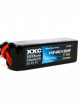 kxs F-Tek 5000mAh 4S 14.8V 40C LiPo EC5 LED (KXSB50004S40)