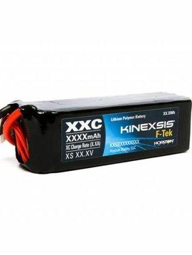 kxs F-Tek 3200mAh 4S 14.8V 40C LiPo EC3 LED (KXSB32004S40)