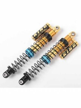 RC4 King Off Road LTD GOLD Piggyback Shocks 100mm