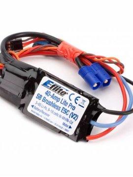 E-flite EFLA1040LB 40-Amp Lite Pro Switch-Mode BEC Brushless ESC (V2)