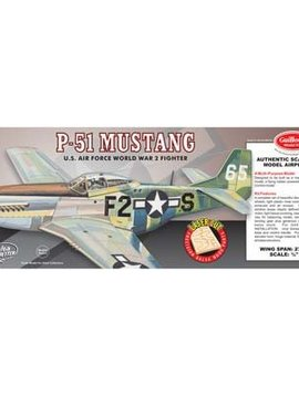 Guilows GUI402LC Model Kit WWII Model Mustang