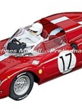 "carrera 30834 Ferrari 365 P2 Maranello Concessionaires Ltd. ""No. 17"", Digital 132 w/Lights"