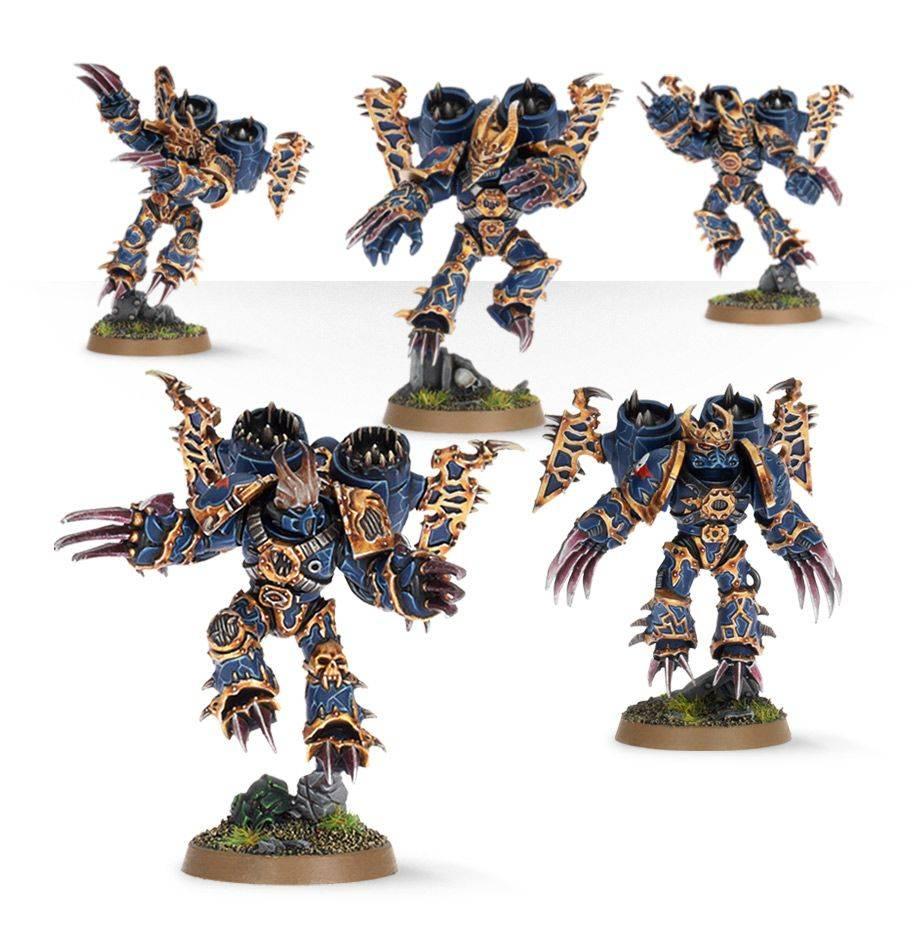 Citadel Chaos Space Marine Raptors 43-13