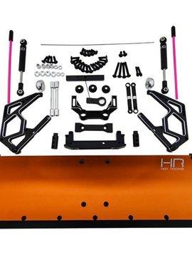 HRA SCX1213P03 CNC Aluminum Snow Plow Orange SCXII
