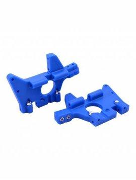 RPM Front Bulkheads for T-Maxx & E-Maxx: Blue (RPM81065)