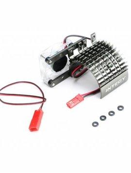 INT Side Mount Motor Heatsink and Fan, Gun (INTC22480GUN)