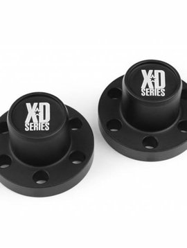 vps Center Hubs XD Series, Black Anodized (2) (VPS07720)