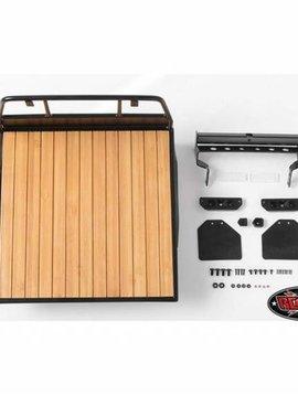 RC4WD Wood Flatbed w Mudflaps Mojave II 4-Door Body Set (RC4VVVC0395)